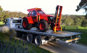 Tilt Deck Truck and tractor